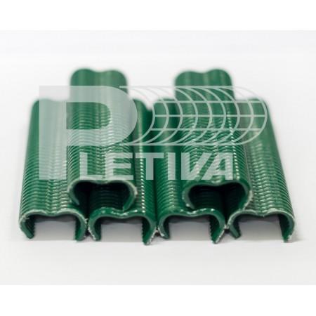 Spona PVC 1000ks zelená