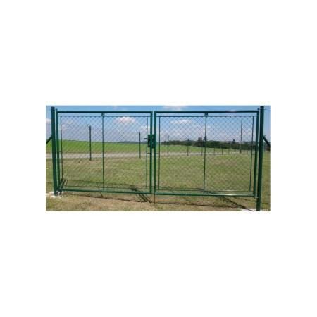 Zahradní brána PVC FAB