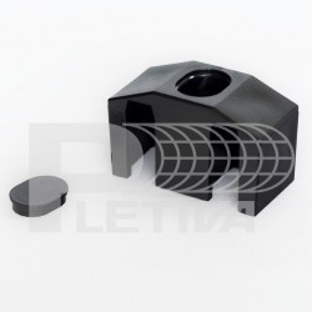Příchytka 3D černá