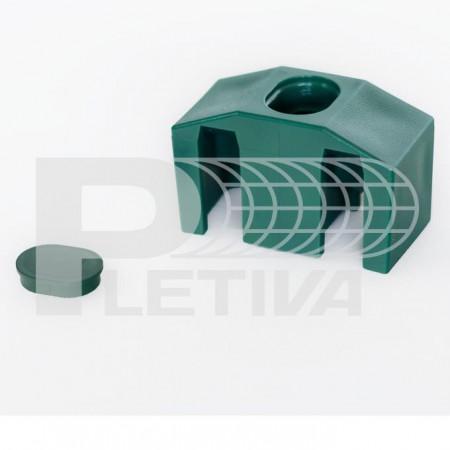 Příchytka 3D zelená