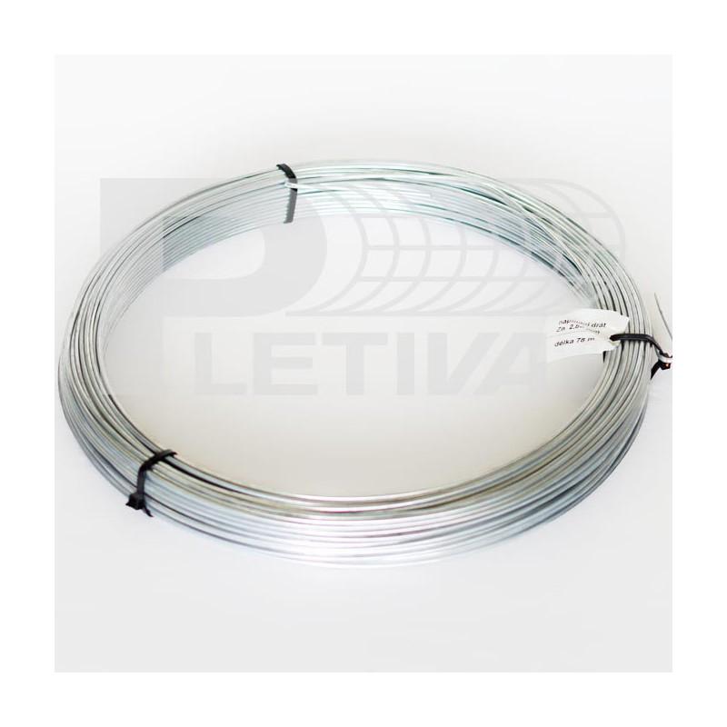 Napínací drát Ø2.8 mm ZN