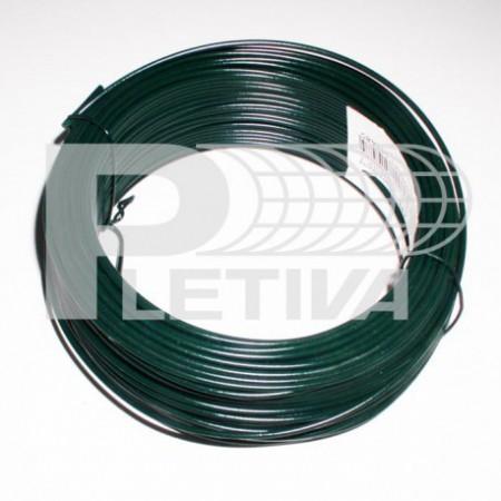 Drát vázací Standard Ø1.5 role 30m ZN/zelená