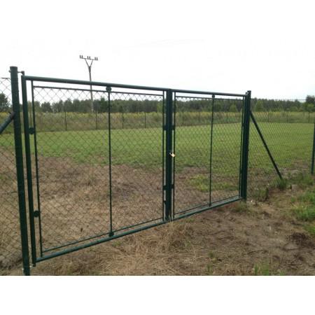 Zahradní brána PVC OKO