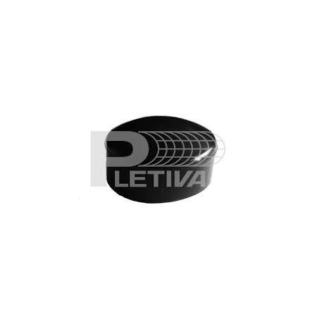 Krytka PVC Ø60 černá