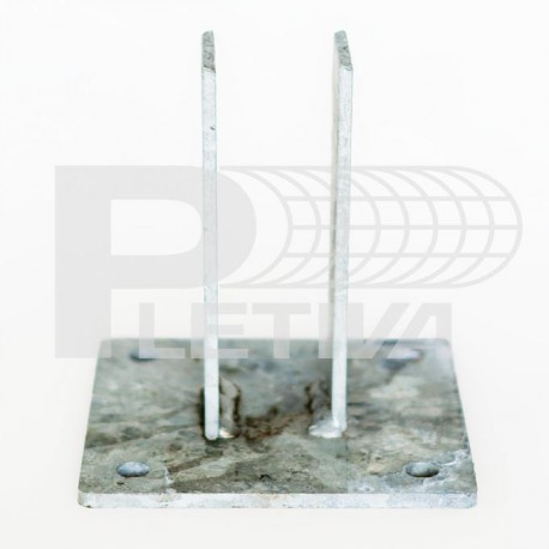 Patka Zn na beton 60x60mm