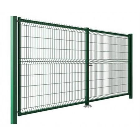 Brána 3D v2030 x š4000 ZN/zelená