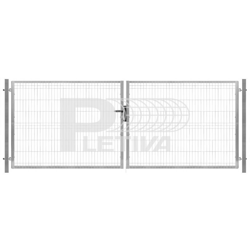 Brána 3D 3500x1530 ZN