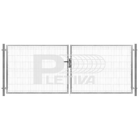 Brána 3D 3500x2030 ZN