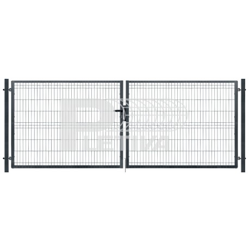 Brána 3D 3500x1530 ZN/antracit
