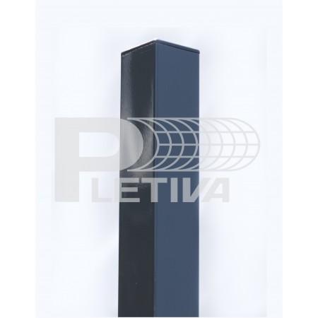Sloupek jeklový 3D v1500 60x60 ZN/antracit